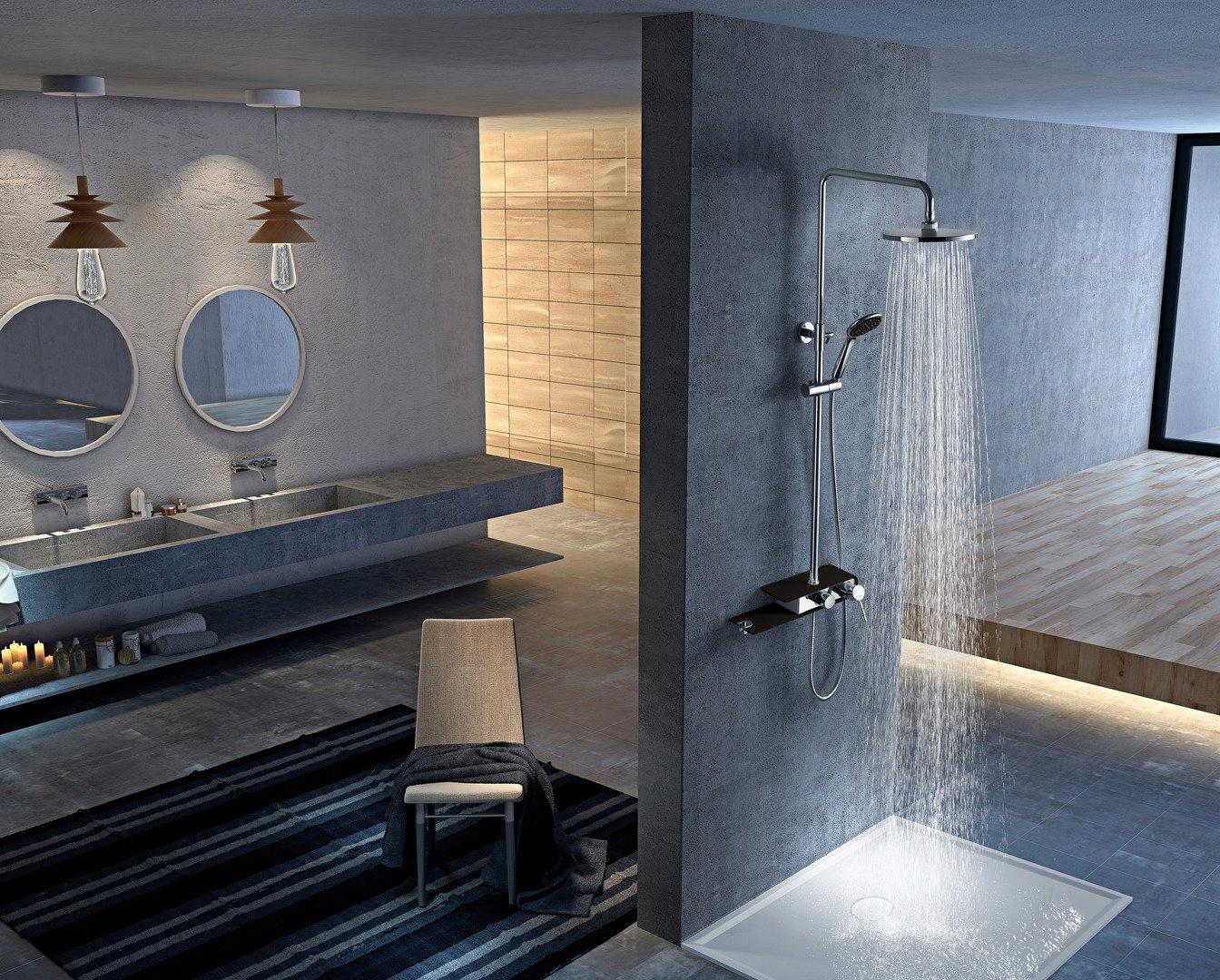 Sprchy - ako si vybrať aby sprchovanie bolo zážitkom?
